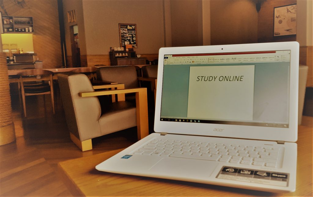 Study Online Anywhere Anytime